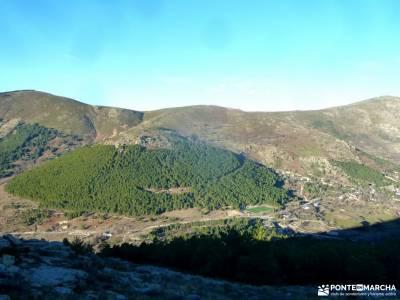 Macizo Cabeza Arcón,El Pendón;actividades turismo escapada fin de semana senderismo con imaginaci�